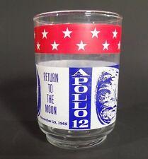 Apollo 12 Twelve Commemorative Glass Cup Mug Drink  NASA Space Astronaut Moon