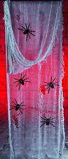 Kit De Gasa Halloween Decoración Fiesta 9'10ft Creepy Paño tejido con las arañas