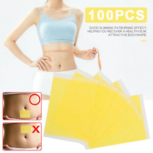 100PCS Strongest Weight Loss Slimming Diets Slim Patch Pads Adhesive Stickers