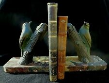 Paire d'oiseaux de M. LEDUCQ. Serre-livre - Style ART DECO -1930 - Bookends