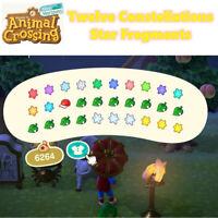Animal Crossing New Horizons TWELVE CONSTELLATIS STAR FRAGMENTS Set in game item