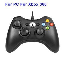 Manette de jeux filaire USB pour PC Windows 7 / 8 /10 et XBOX 360 Neuf