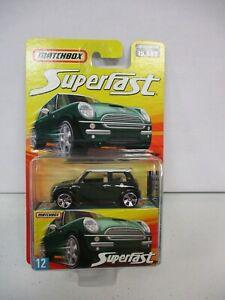 Matchbox Superfast Mini Cooper S No 12