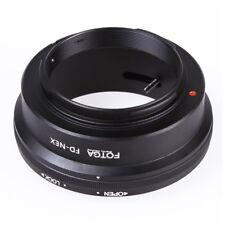 Fotga Adattatore Montare Anello per e FD Lente a Sony NEX E NEX-3 NEX-5 NEX U5W0
