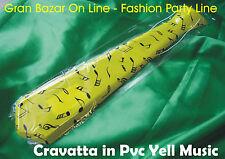 CRAVATTA BUFFA ANIMAZIONE FESTA in PVC - YELL MUSIC