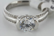 Ritani Modern Engagement Ring Semi-mount 1RZ2008