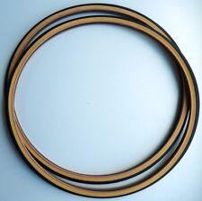 2 PNEUS ROUTE VEE RUBBER 700 x 28 C ( 28-622 ) NOIRS/BRUNS RIGIDES NEUFS -TIRES.