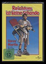 DVD REICHTUM IST KEINE SCHANDE - STEVE MARTIN  - Kult-Komödie *** NEU ***