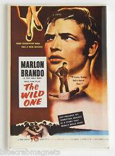 The Wild One FRIDGE MAGNET (2 x 3 inches) movie poster marlon brando motorcycle