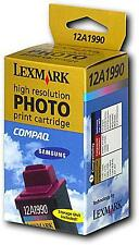 CARTUCCIA ORIGINALE LEXMARK PHOTO 90 FOTOGRAFICA INKJET 12A1990