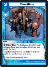 Kaijudo X3 TIME RIME Uncommon #28/110 7CLA (Playset) Clash of the Duel Masters