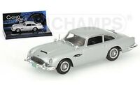 MINICHAMPS James Bond 007 model cars Lotus Esprit DB5 2000GT Mustang Vanquish