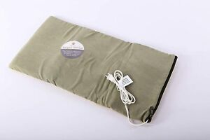 """K&H PET PRODUCTS Heated Thermo-Kitty Mat Reversible Cat Bed 12.5"""" x 25"""" Sage/Tan"""