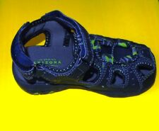 Arizona Lil Kenny navy green sandals sz. 9 boys NEW