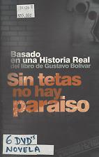 TELENOVELA Sin tetas no hay paraiso VERSION ORIGINAL Colombia 6 DVDs +17 hrs