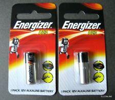 2 x FRESH Energizer A23 23A 12V Car Bell Remote Battery Alkaline Exp.2021 #Gtns