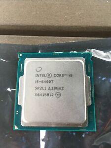 Intel i5 6400T Gen 6 2.2Ghz quad core SR2L1 Processor - Used