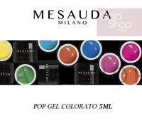 MESAUDA MILANO POP GEL NAIL UNGHIE GEL UV LED PER RICOSTRUZIONE COLATA 5ML NAILS
