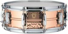 Ludwig Copper Phonic Hammered Snare Drum 14 x 5 in. Copper Finish with Imperial