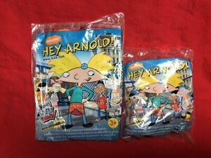 2003 NICKELODEON WENDY'S KIDS MEAL TOY HEY ARNOLD - HELGA - ARNOLD