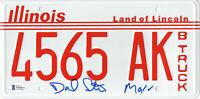 DANIEL STERN SIGNED AUTO 'HOME ALONE' LICENSE PLATE MARV BECKETT BAS COA 18