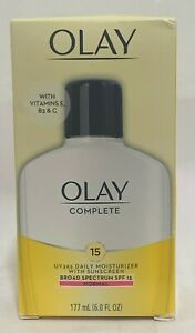 OLAY Complete UV 365 Daily Moisturizer With Sunscreen SPF 15 NORMAL 6.OZ NEW