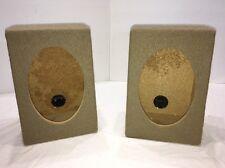 "Amazing Truck Style 6""x9""Car Audio Speaker Box Enclosures PAIR-BEIGE-W SPK CLIPS"