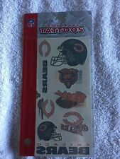 Chicago Bears Temporary Tattoos package Brand New in package