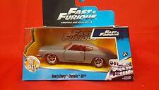 Jada 1/32 Scale Fast & Furious Doms Chevy Chevelle SS Matt Gray Diecast