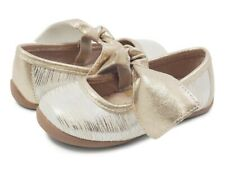 NEW Girls Livie & Luca Gold Halley Ballet Flat Shoes Sz 2 Youth Big Girl