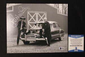 RICHARD PETTY SIGNED 8X10 PHOTO NASCAR AUTOGRAPH BECKETT COA JB701