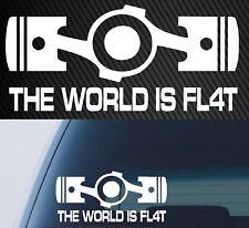 Subaru STi Tecnica Car Window Decals Vinyl die cut decal 200mm