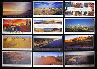 Western Australia Panorama Postcard set of 12 Postcards