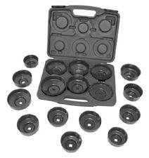 Lisle  61500 17 Piece Oil Filter Cap Wrench Set