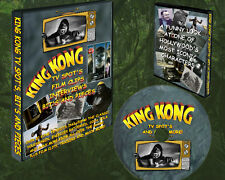 """KING KONG 1933 COLLECTION OF FUNNY TV SPOTS , REVIEWS AND TRAILERS 25 MIN. DVD"""