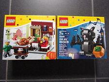 Lego 40090 (Halloween bat) + 40123 (acción de gracias) - nuevo & OVP