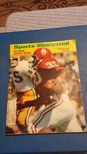 Vintage 1972 Sports Illustrated College Football Oklahoma Pruitt *FREE SHIPPING*