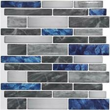 Art3d Peel & Stick Self Adhesive Wall Backsplash Tiles in Marble, 12
