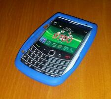 New Unbranded Blackberry Bold 9700 Blue Silicone Rubber Gel Case
