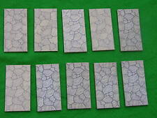 BRITAINS FLORAL & GARDEN,CRAZY PAVING SECTIONS x10