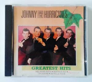 JOHNNY & THE HURRICANES - Greatest Hits - ORIGINAL CD - Excellent Used