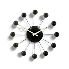 newgate orbital black clock  STUNNING LARGE  APPEARANCE  STYLISH RARE STATEMENT