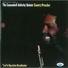 """Country Preacher: """"Live"""" at Operation Breadbasket by Cannonball Adderley CD"""