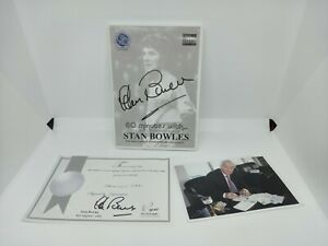 Stan Bowles QPR. PROOF limited edition signed audio CD, photo and COA 409/1000
