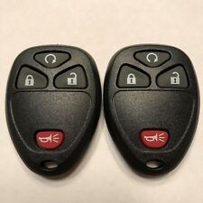 2 New Replacement Keyless Entry Remote Key Fobs 4 Button KOBGT04A 15114374