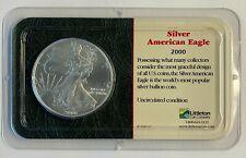 2000 American Silver Eagle $1 Dollar Coin .999 Fine Silver Littleton Coin Co.