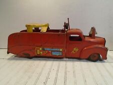 Marx Ride On Fire Truck - No.6 VFD 1940s