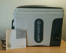 BROOKSTONE AUTO THERMAL ELECTRIC COOLER DC 12V WARM AND COOL CUP HOLDER