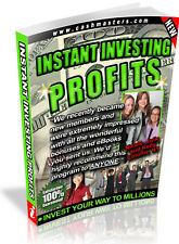 INSTANT INVESTING PROFITS PDF EBOOK FREE SHIPPING RESALE RIGHTS