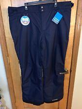 NWT Columbia Arctic Trip PANT Pants Ski Snowboard Men's - Blue - XXLarge - $110